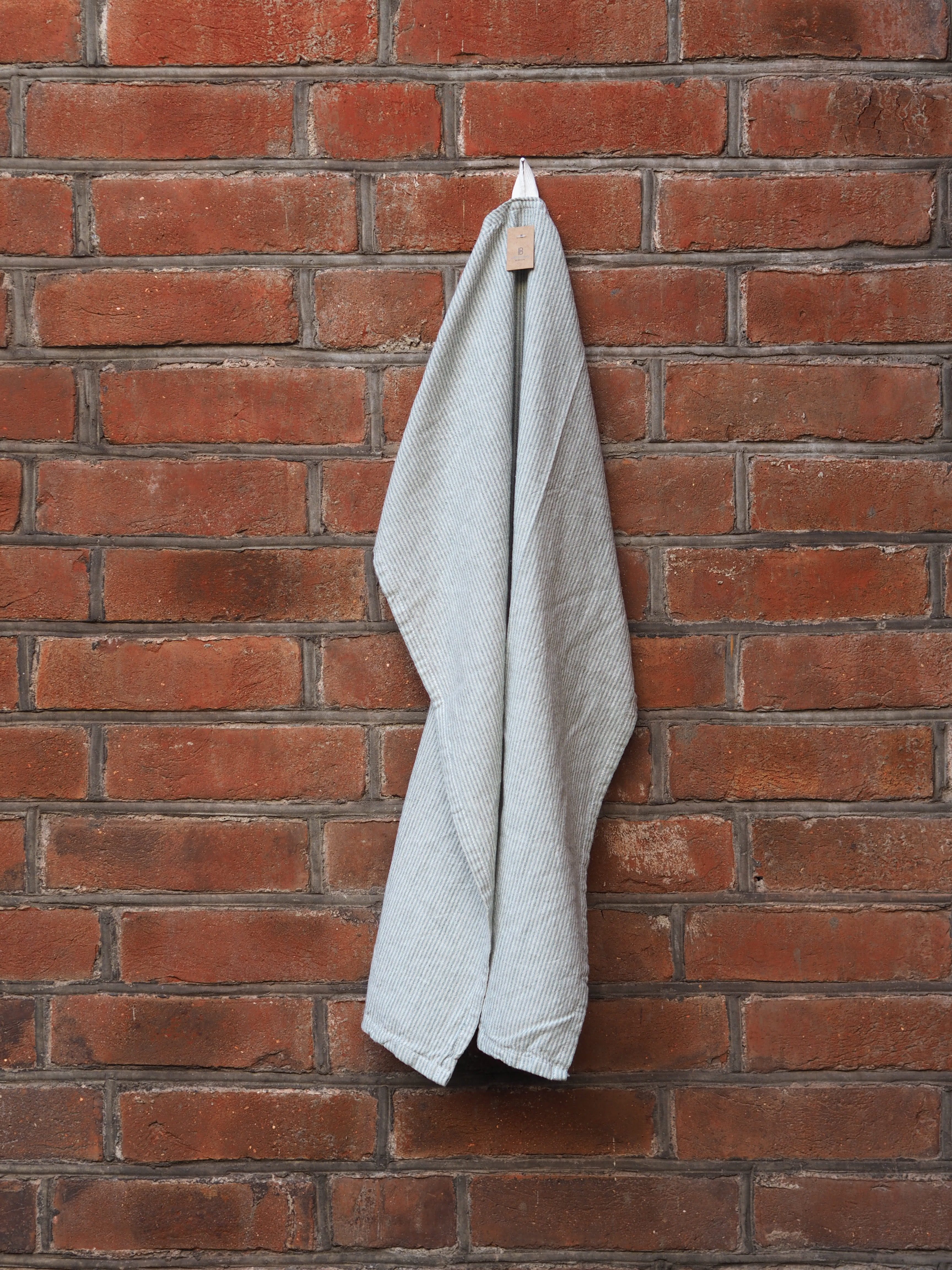 Kjøkkenhåndkle Stripete Grønn/Hvit