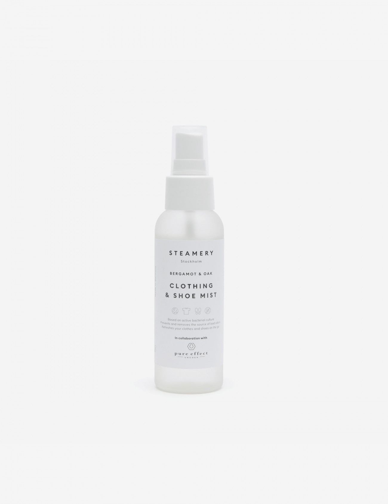 Clothing and Shoe Mist, Steamery