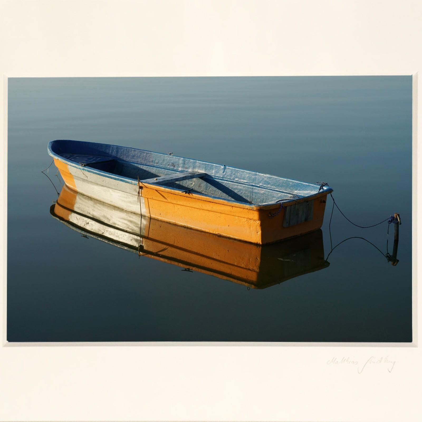 """Edition Galerie Usedomfotos """"Spiegelboot"""""""