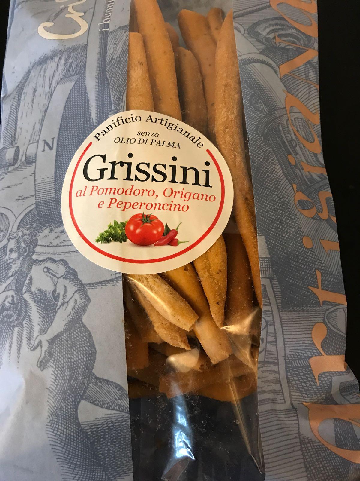 Grissimi Sticks al pmoodor origano e peperoncino