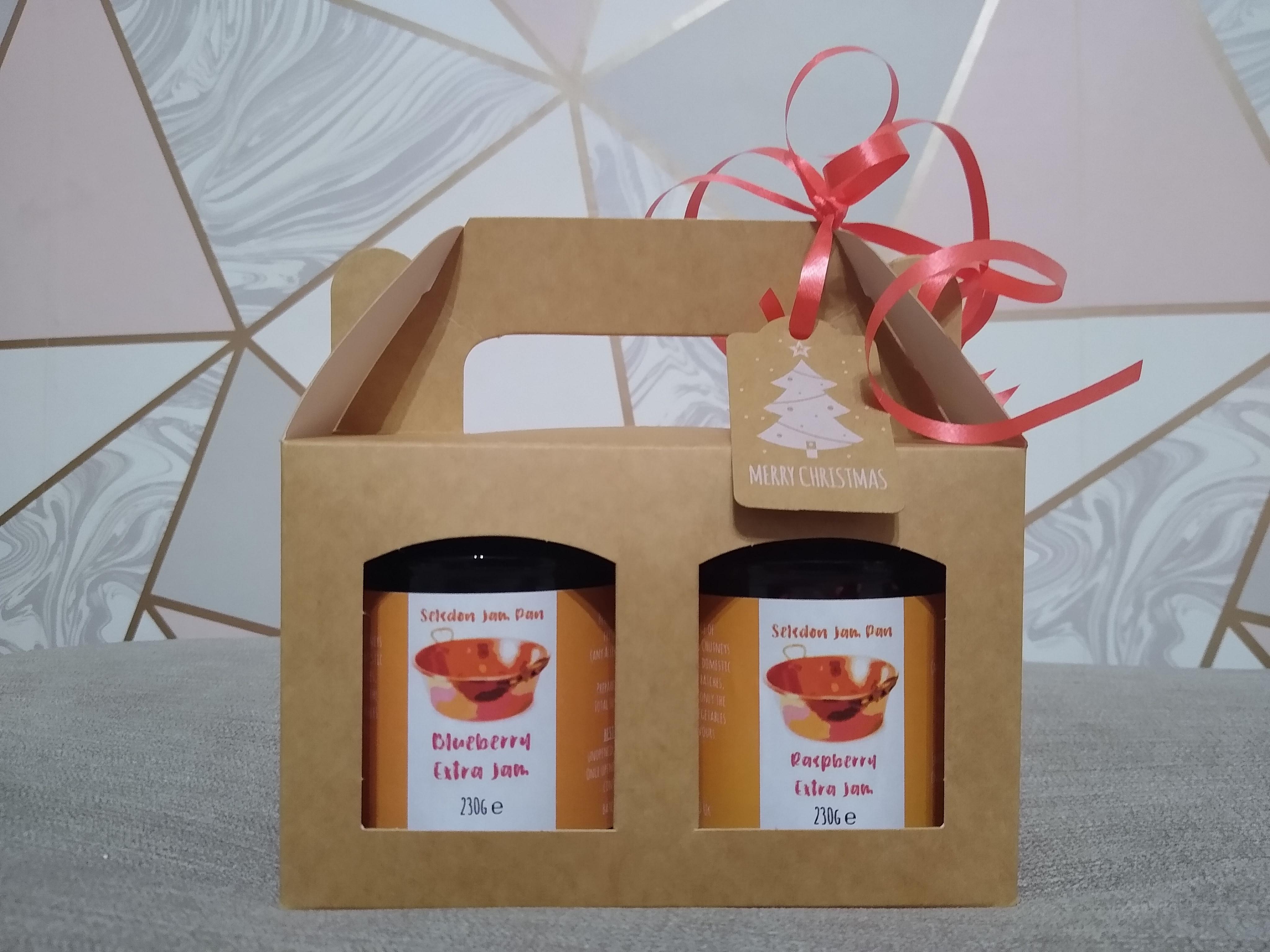2 x ~200g Medium Jar Christmas Gift Set