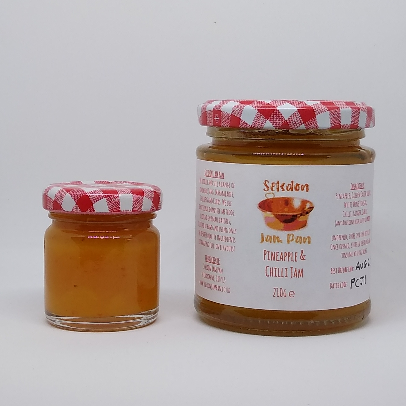 Pineapple & Chilli Jam