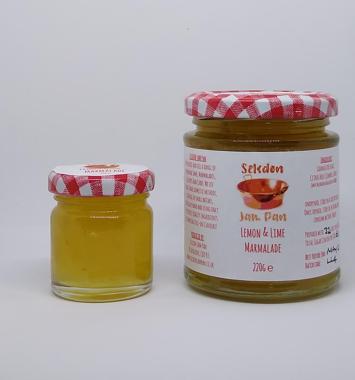 Lemon and Lime Marmalade