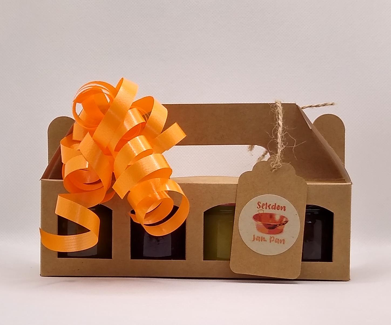 4 x ~45g Mini Jar Gift Box Set