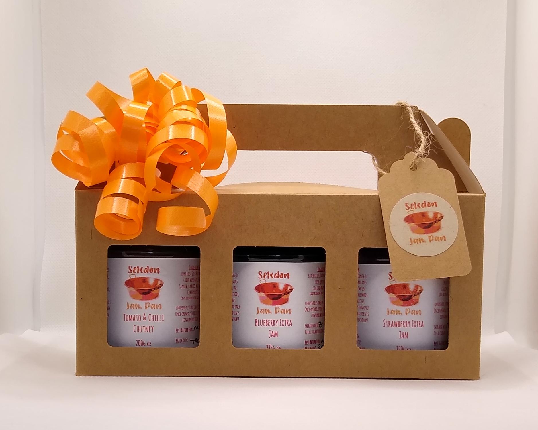 3 x ~200g Jar Gift Box Set