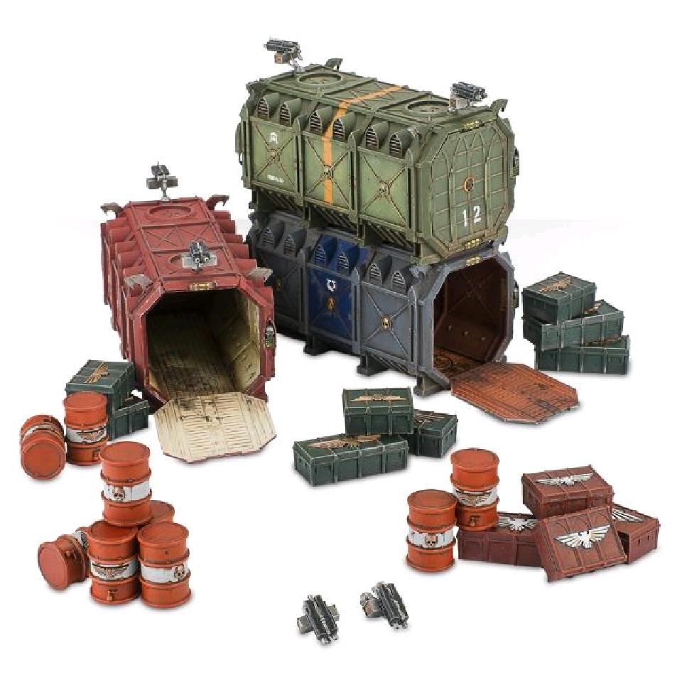 Munitorium Armoured Containers, Terrain