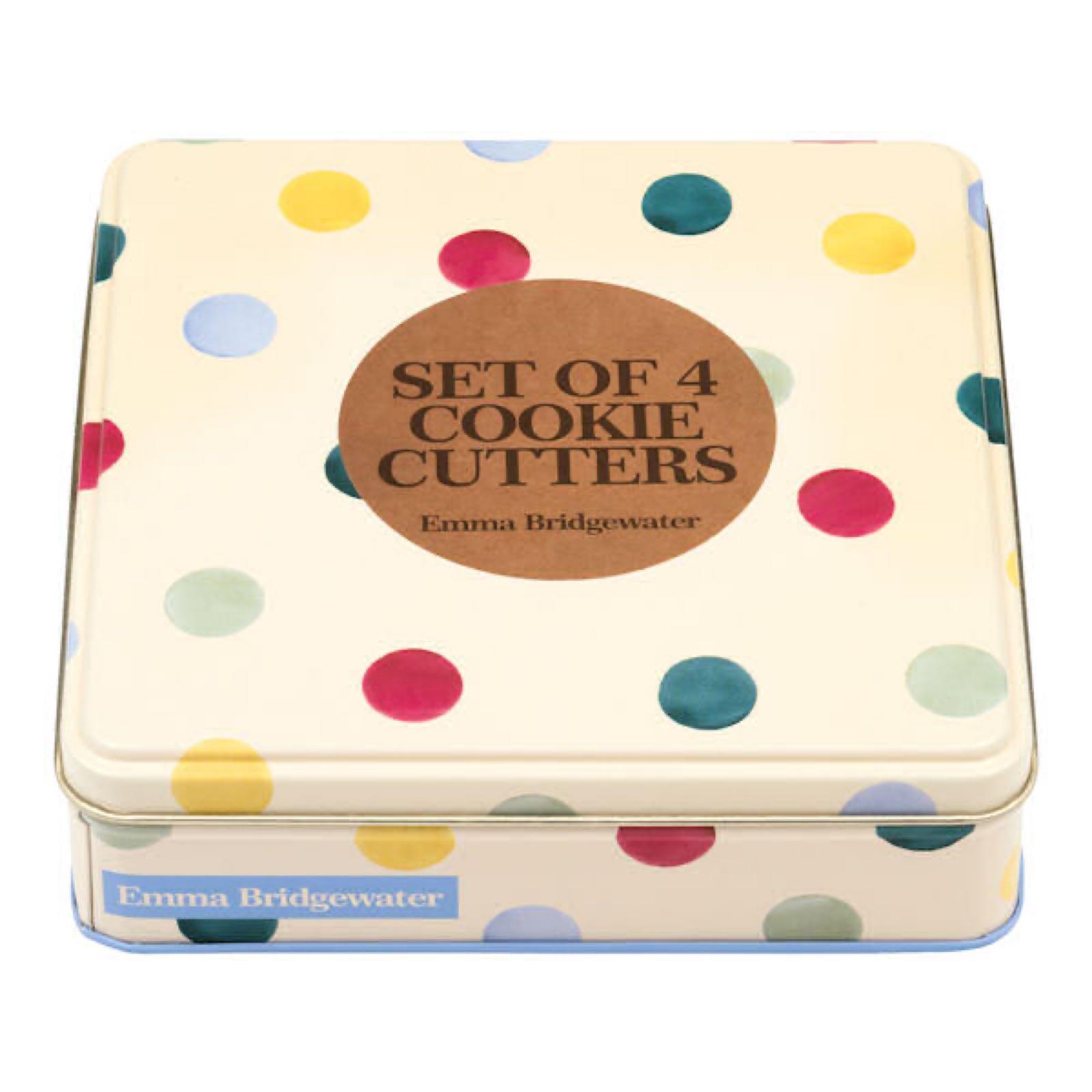 Emma Bridgewater Polka dots set of Cookie Cutters
