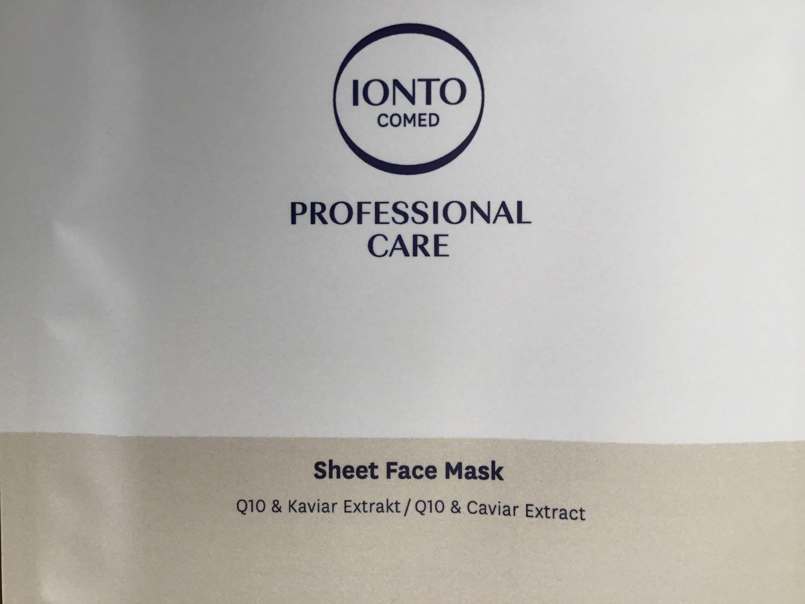 Kaviar + Q10 Maske regenerierend und pflegend  3 St.