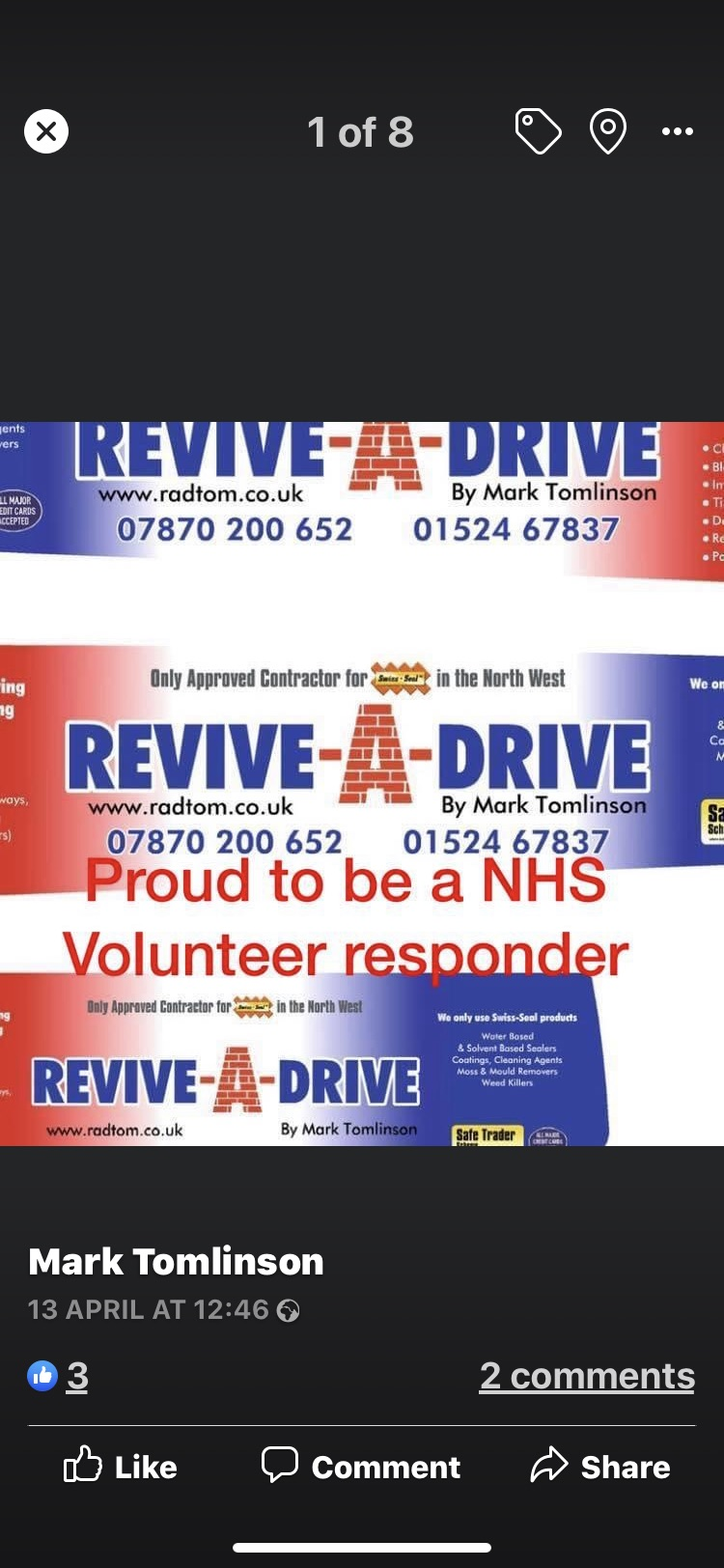 Revive-A-Drive Tomlinson
