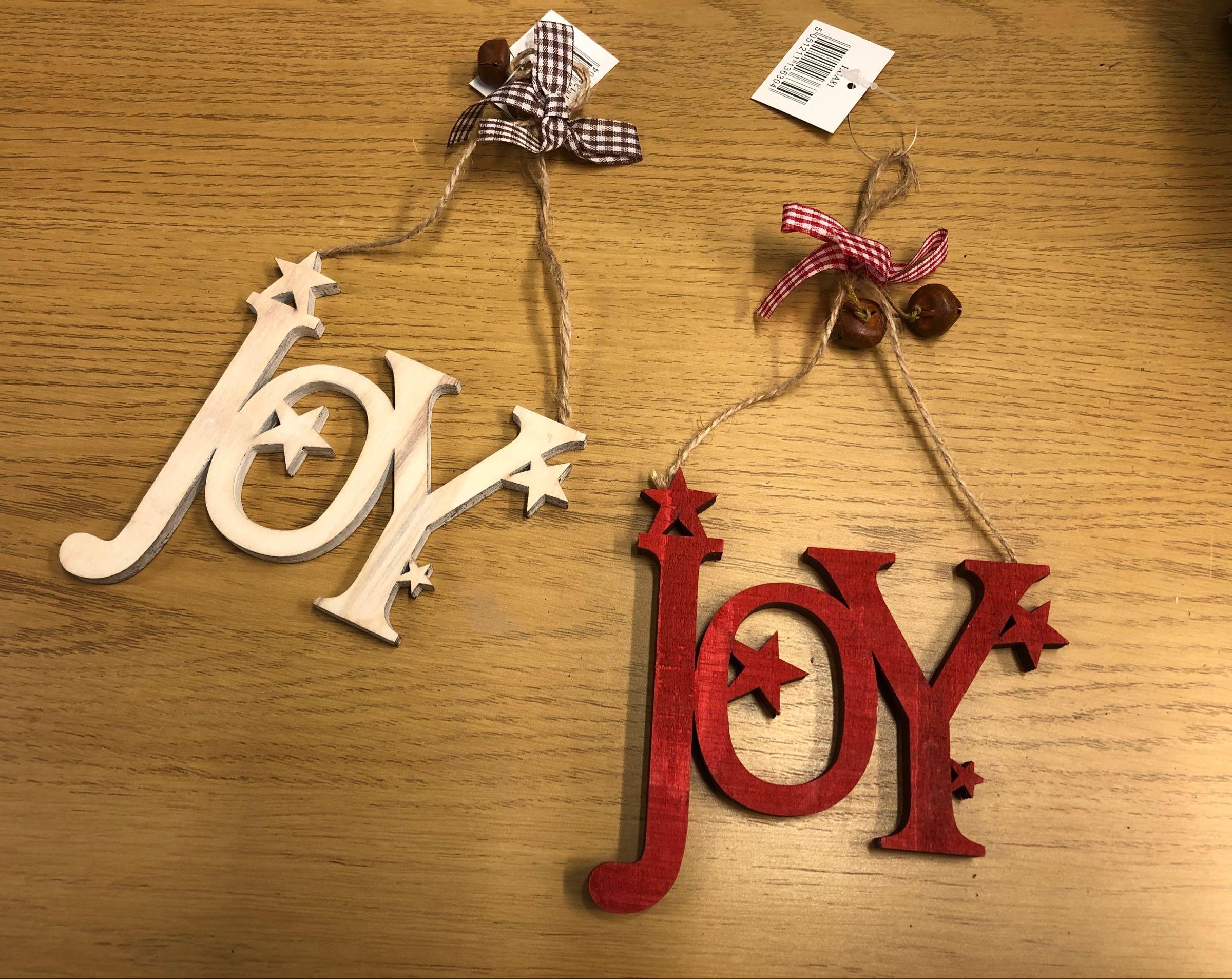 Joy decoration