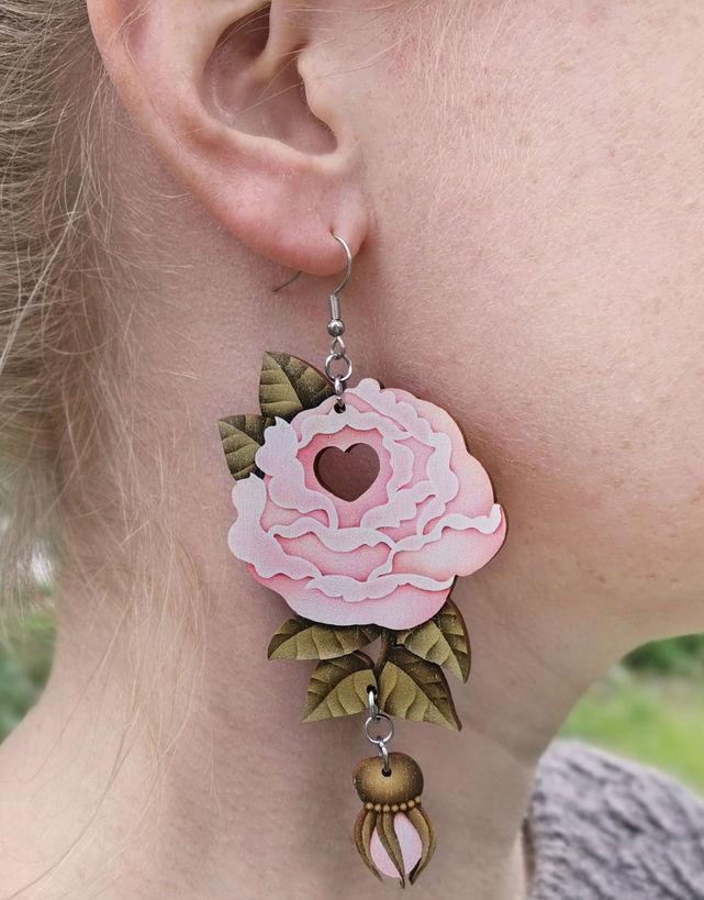 Rakkausruusu (vaalea roosa)
