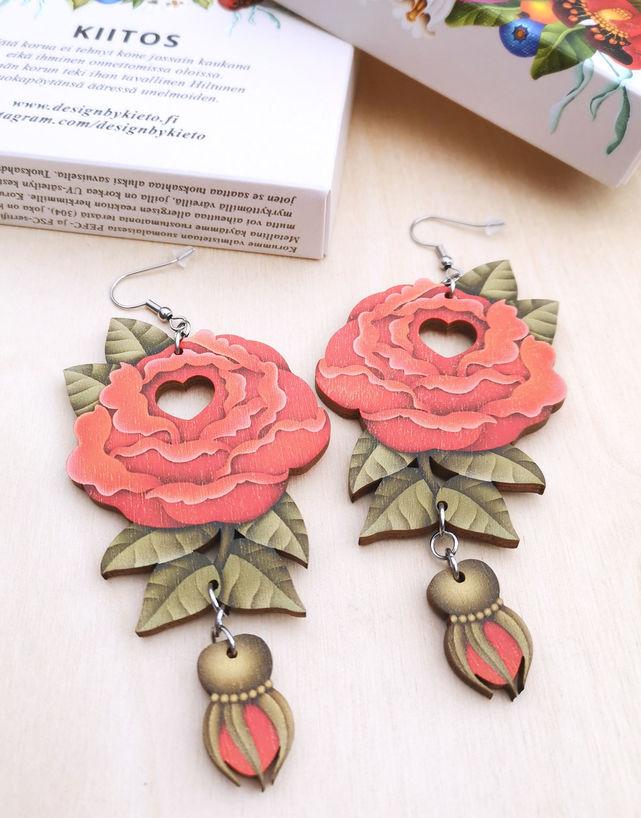 Rakkausruusu (punainen)
