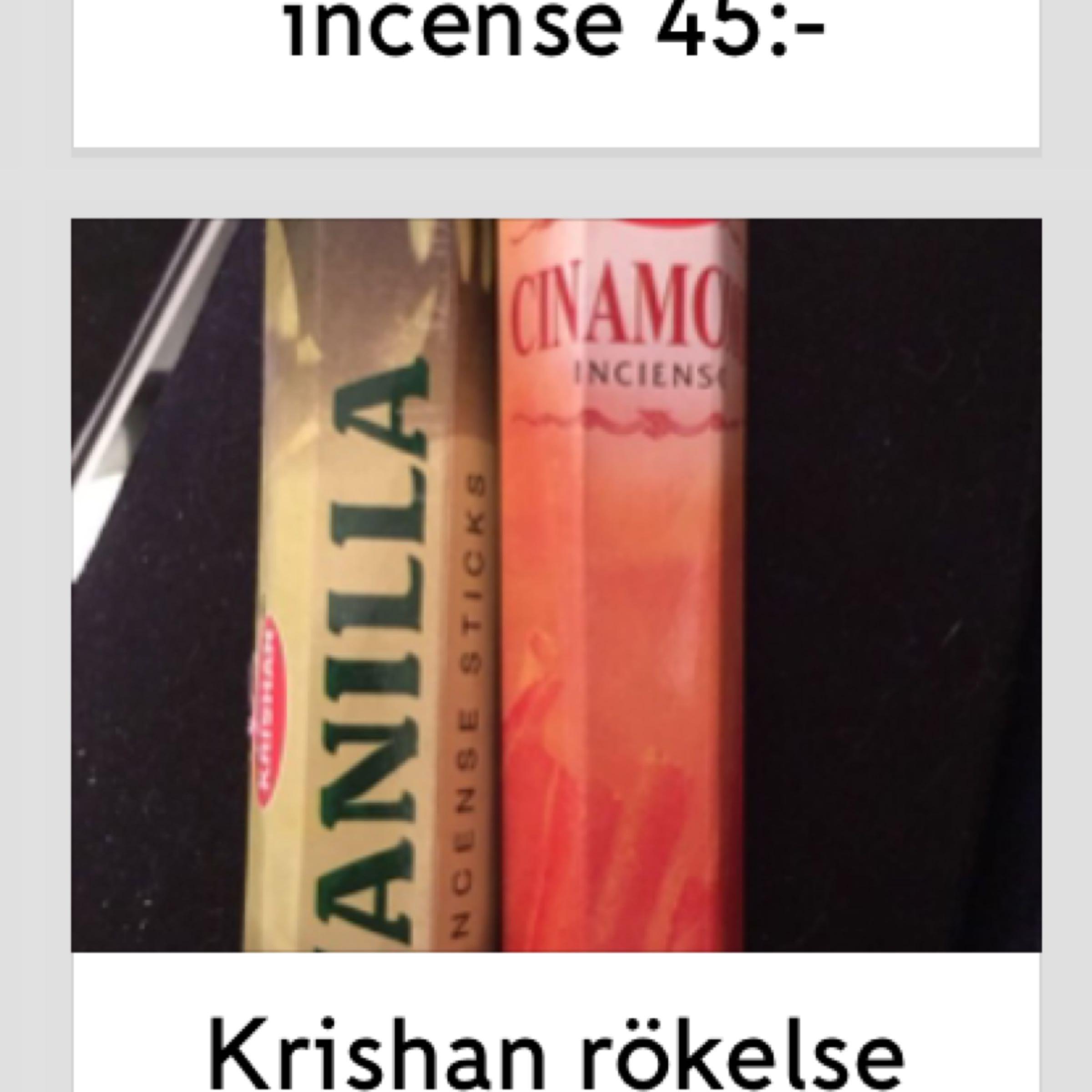 Krishan rökelse 34:-