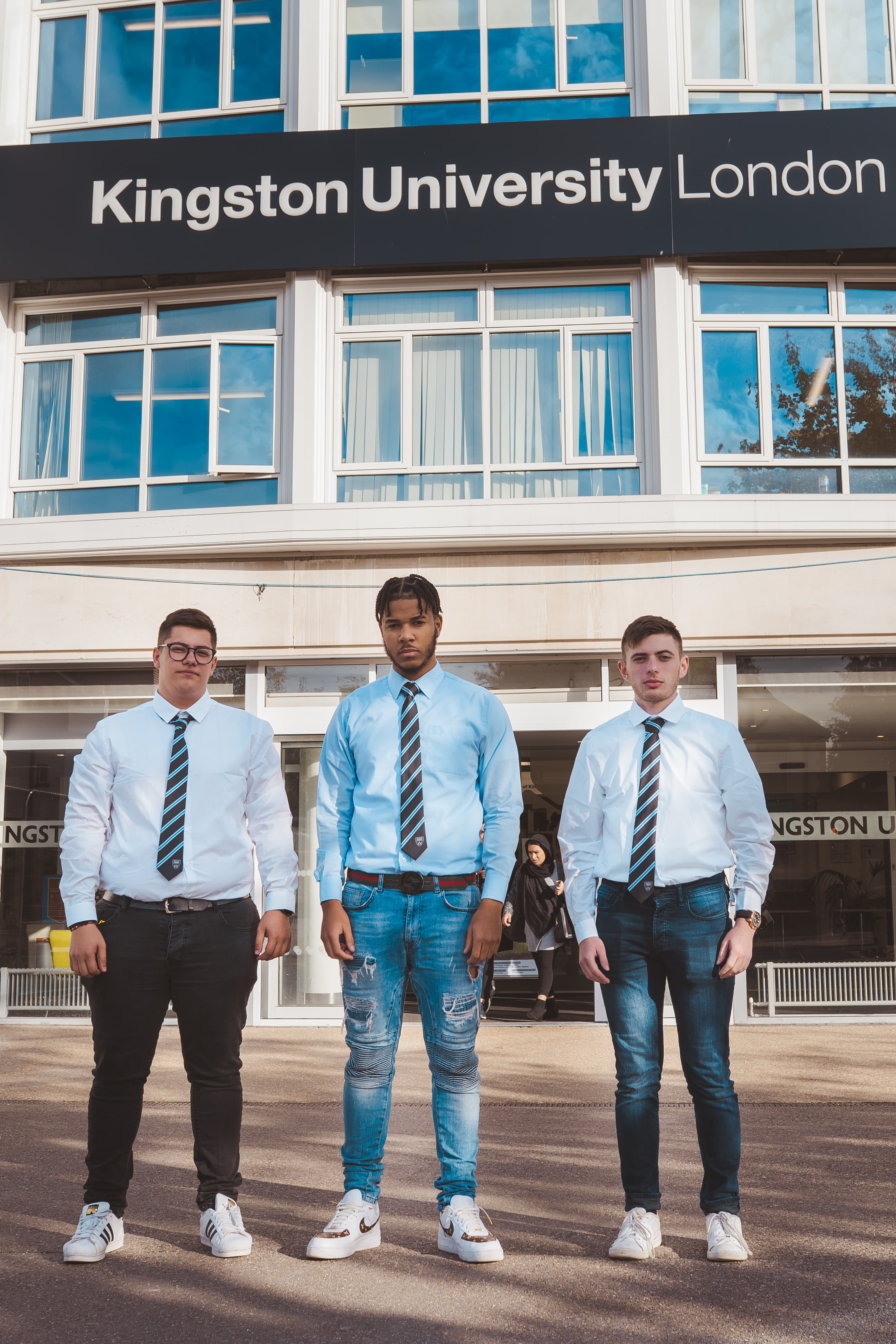 Kingston University Tie