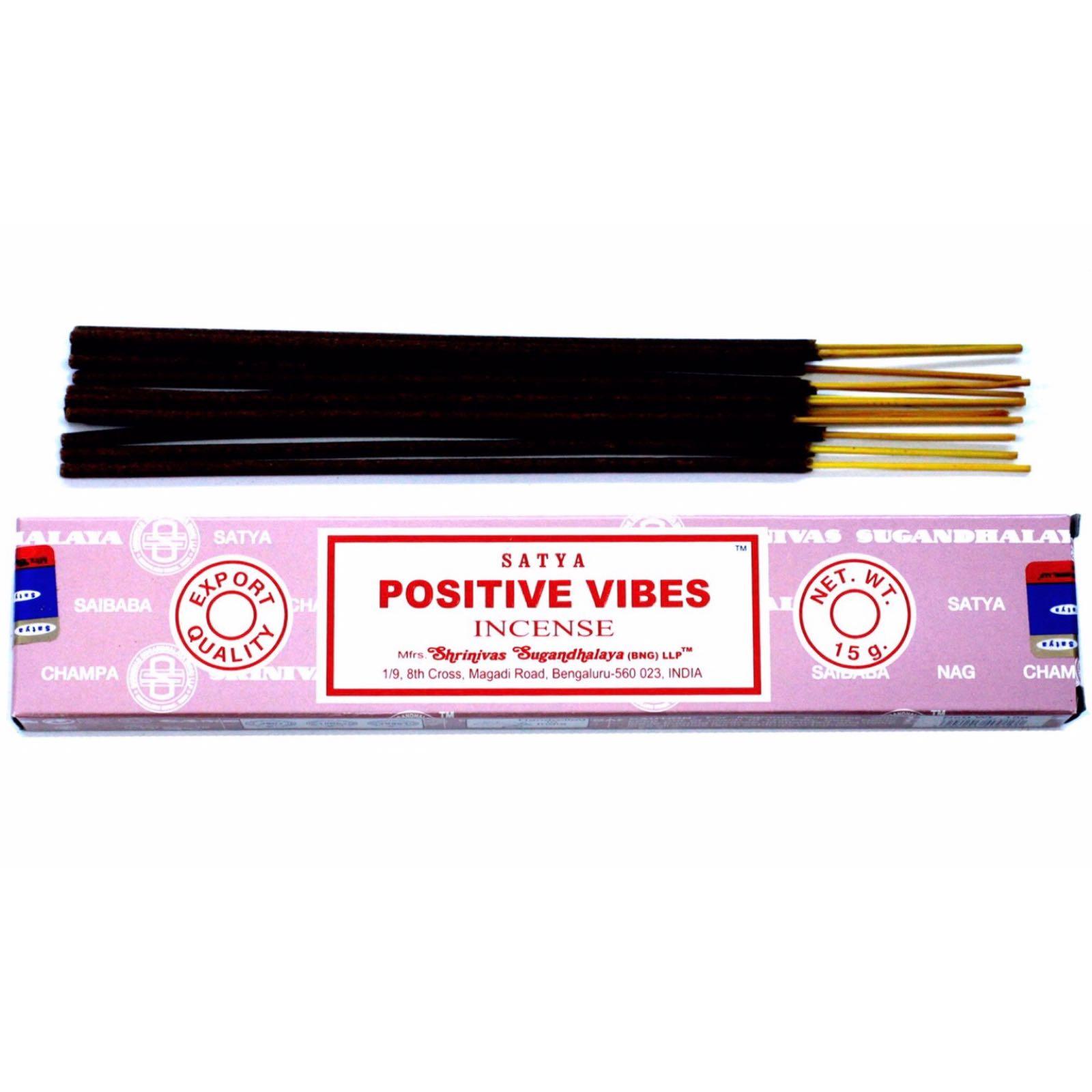 'Positive Vibes' Incense Sticks