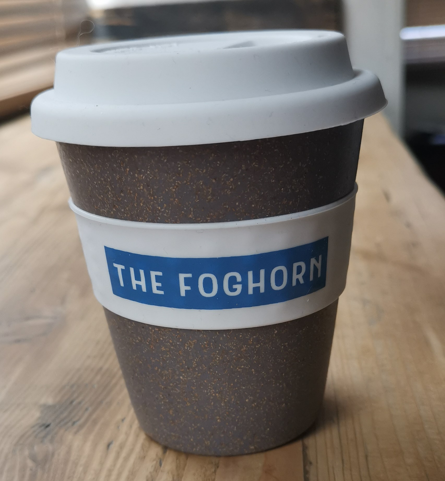 The Foghorn Coffee Cup