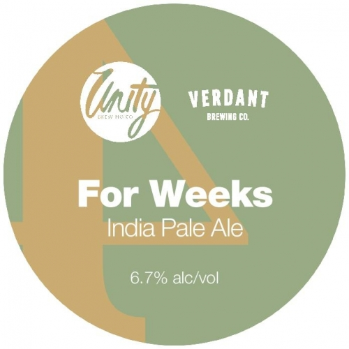 Unity X Verdant For Weeks IPA (2 PINT MINIMUM)