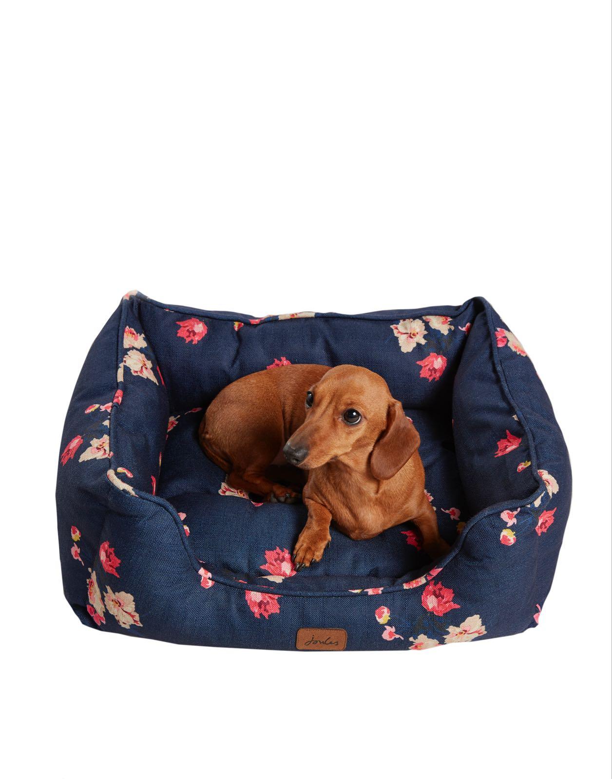 Joules Floral Percher Pet Bed Small 55cm x 42cm x 20cm
