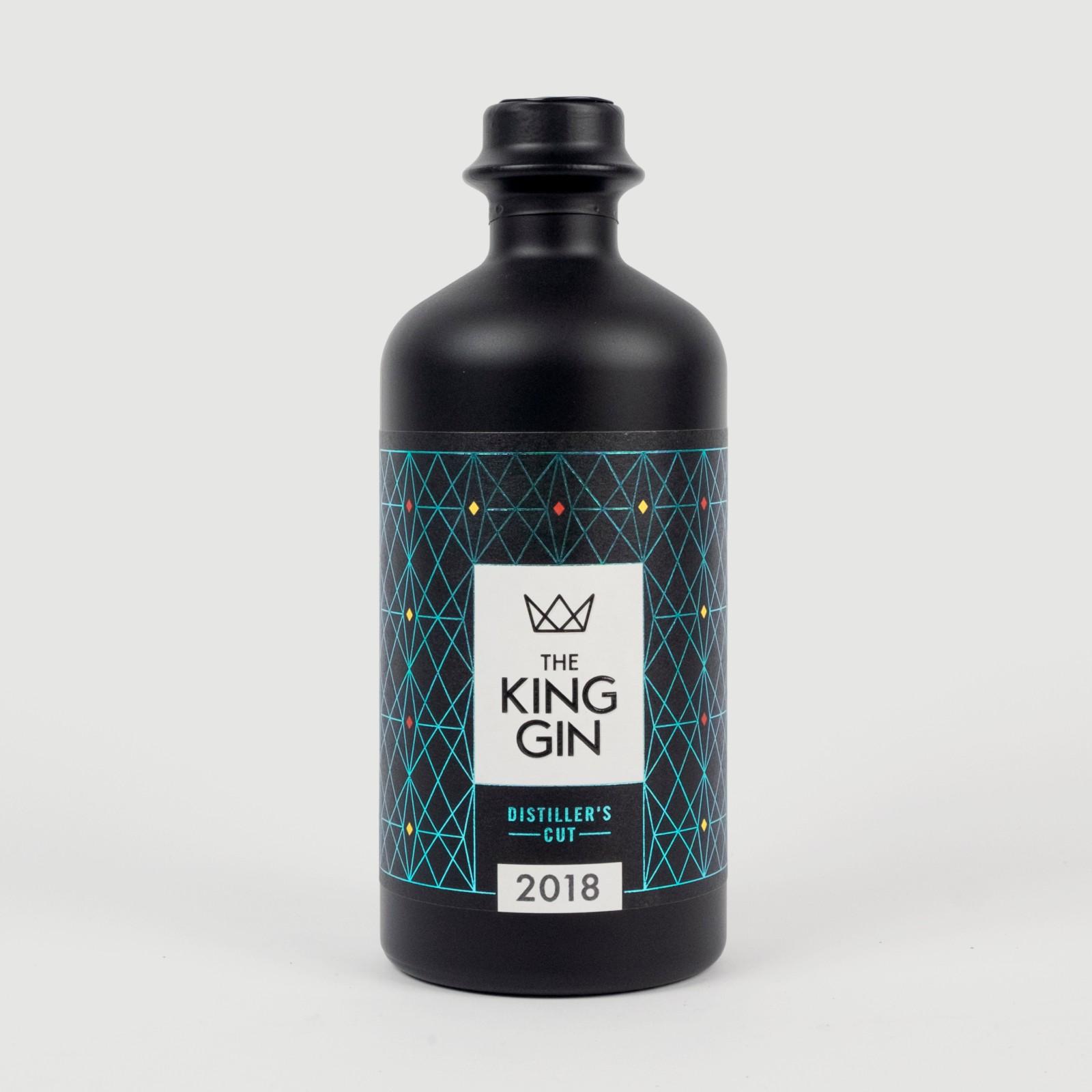 The King Gin Distiller's CUT 2018 + The King Gin 51