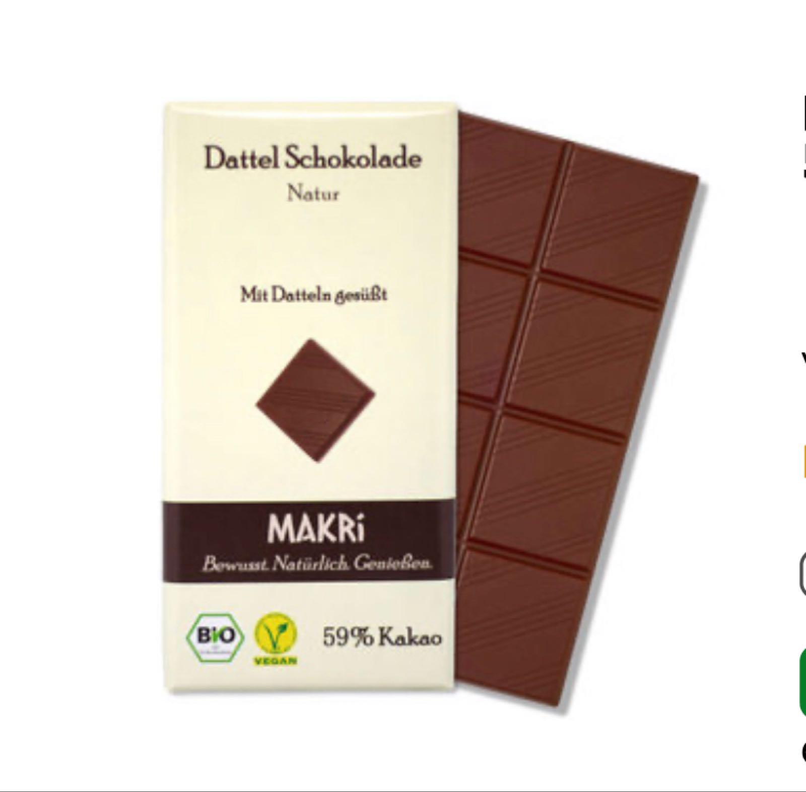 Dattel-Schokolade