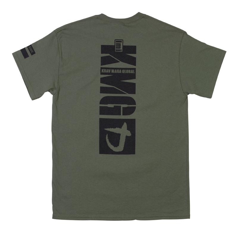 KMG t-shirt grön