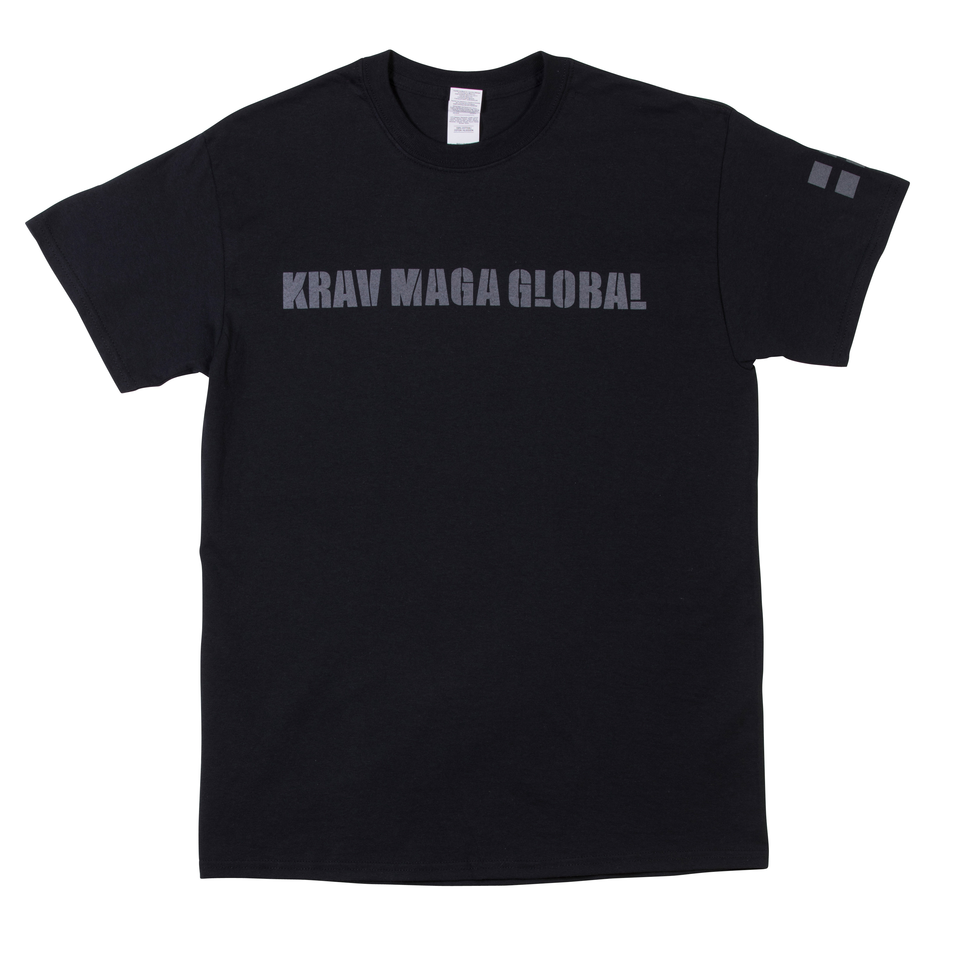 KMG t-shirt svart