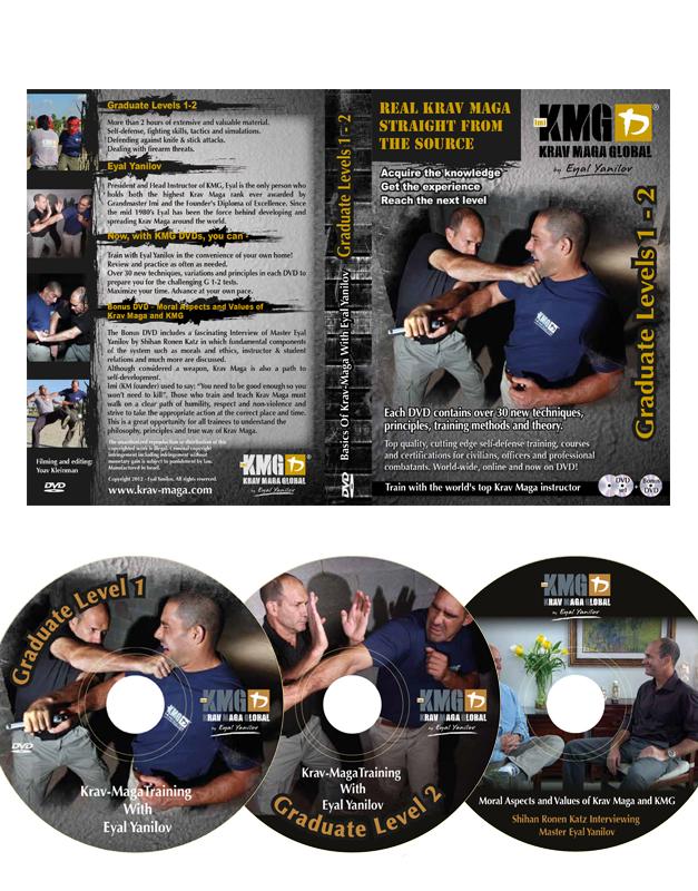 DVD Graduate BOX G1-G2