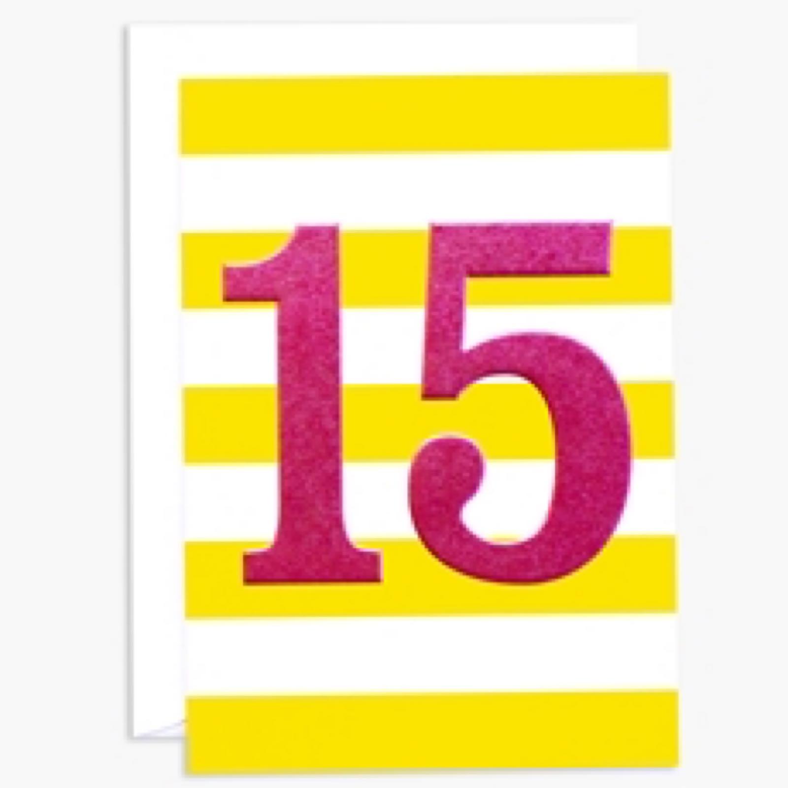 15th Birthday (INK104)