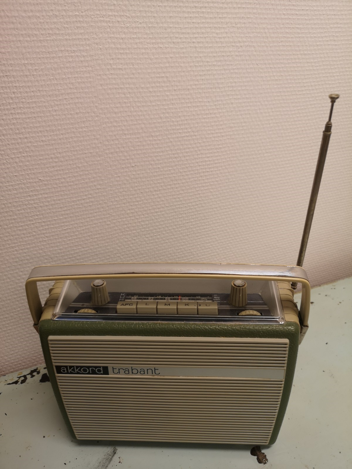 Akkord Trabant matkaradio