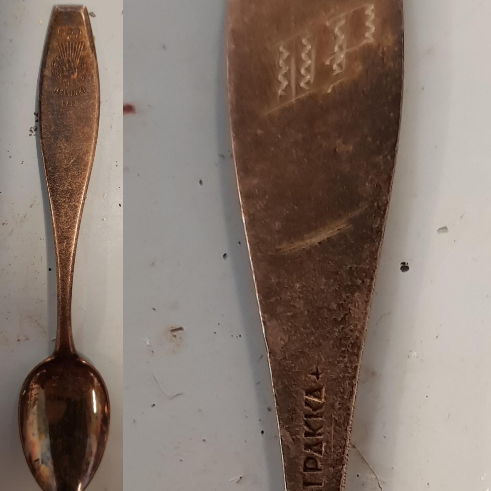 Olympialusikka 1952, II palkinto, alpakkaa