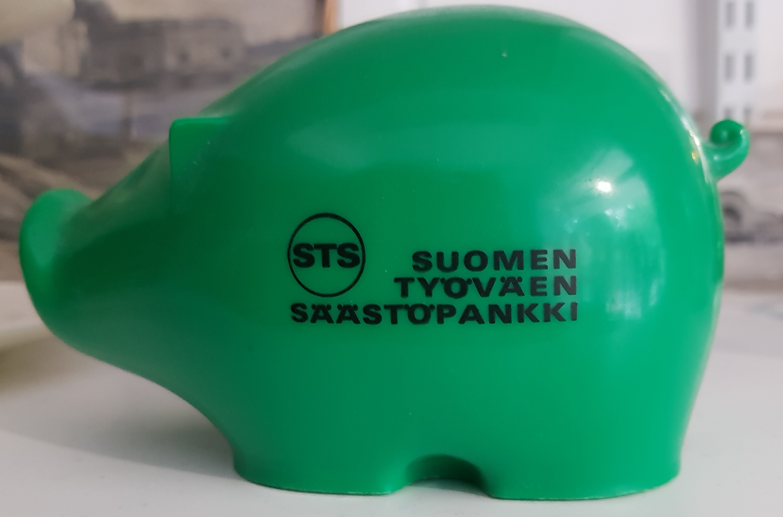 Säästöpossu, Suomen työväen säästöpankki