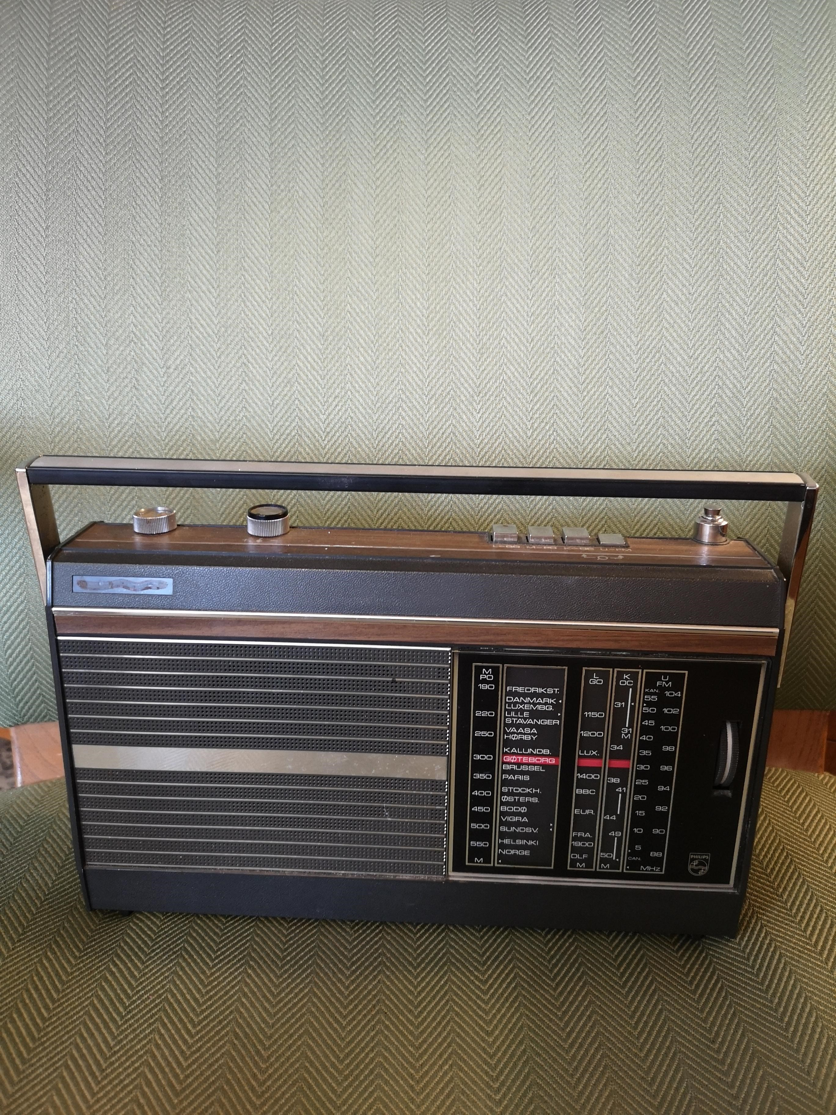 Philips matkaradio