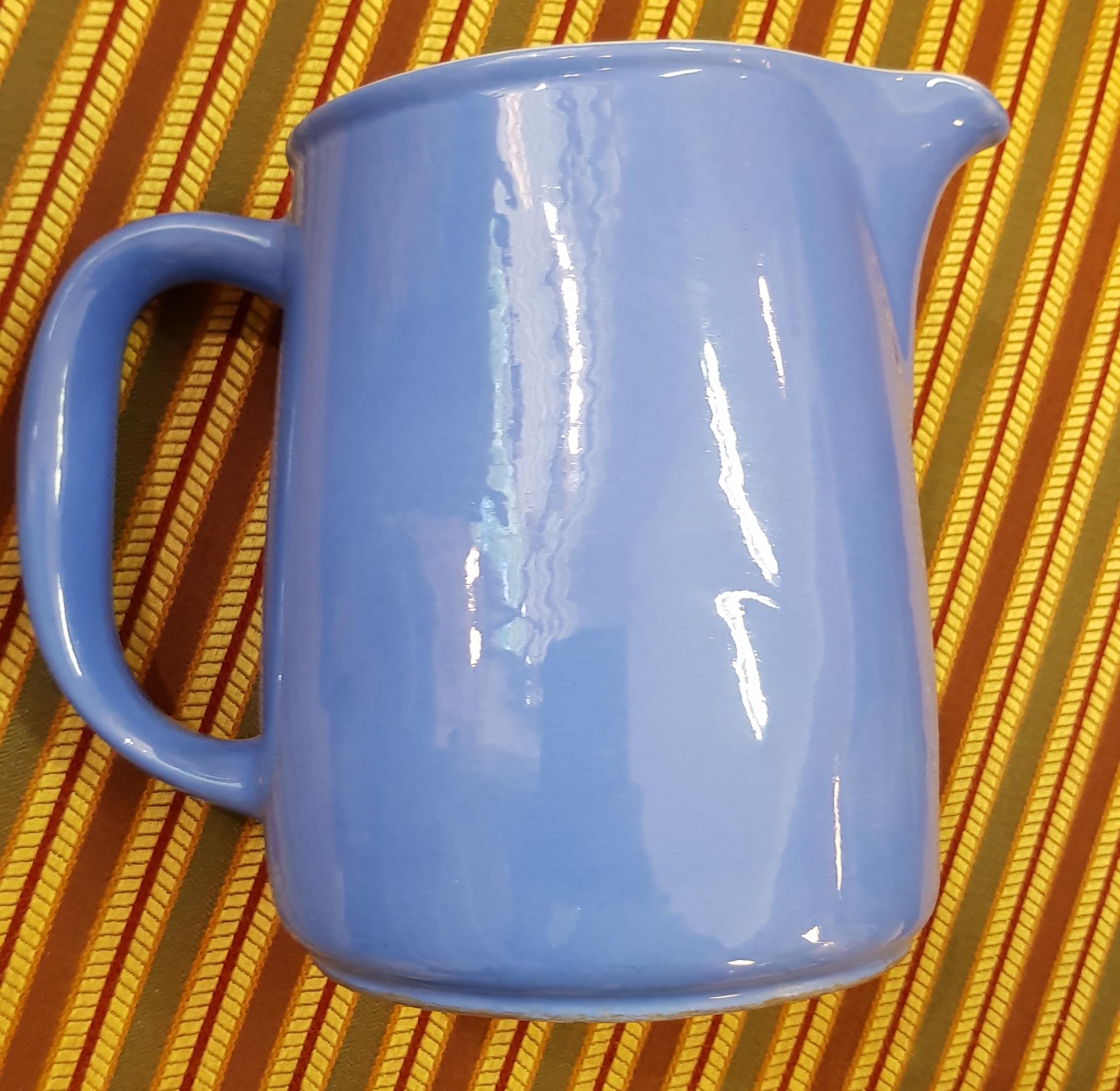 Arabia sininen kannu