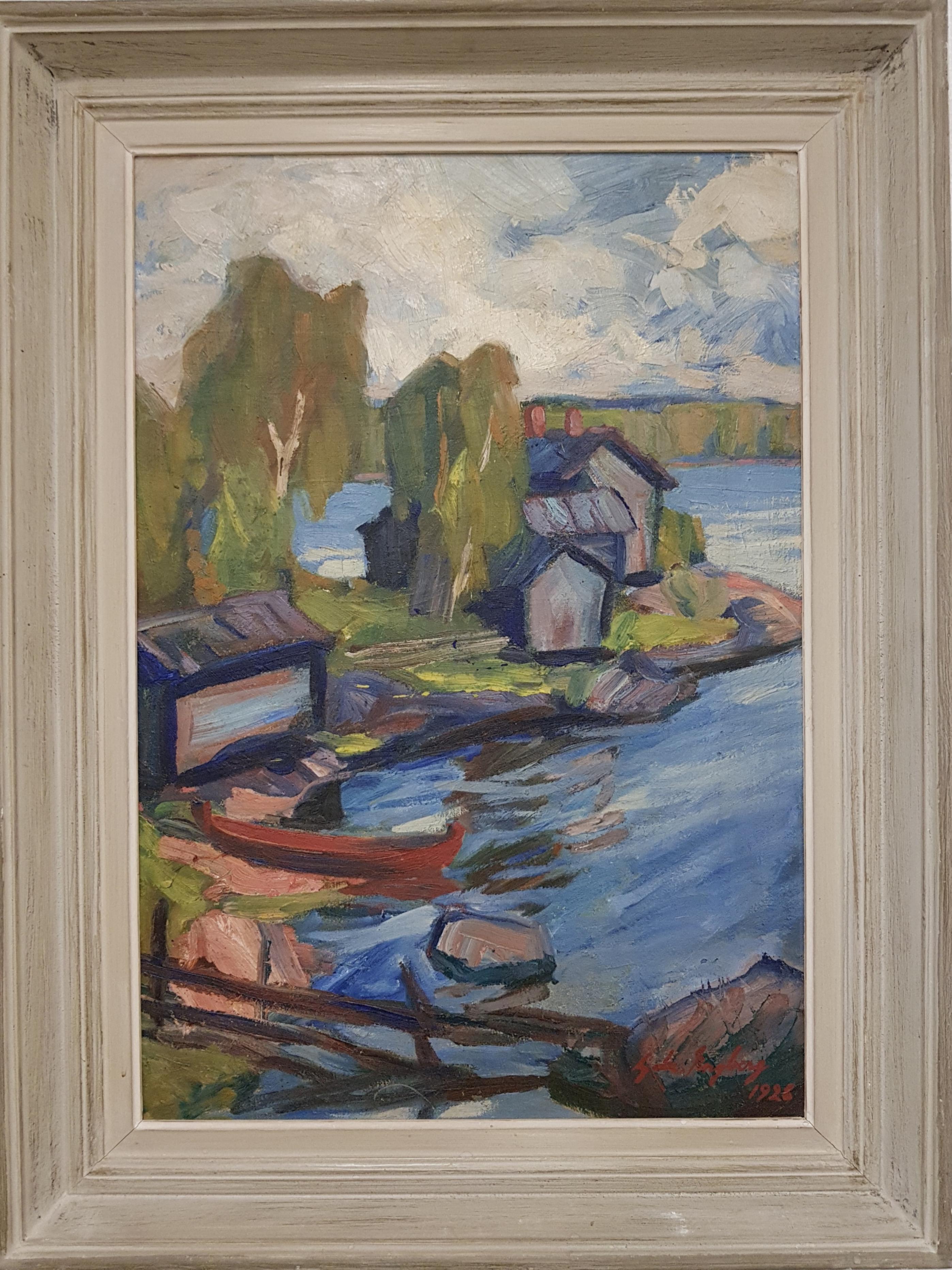Gabriel Engberg taulu 1928