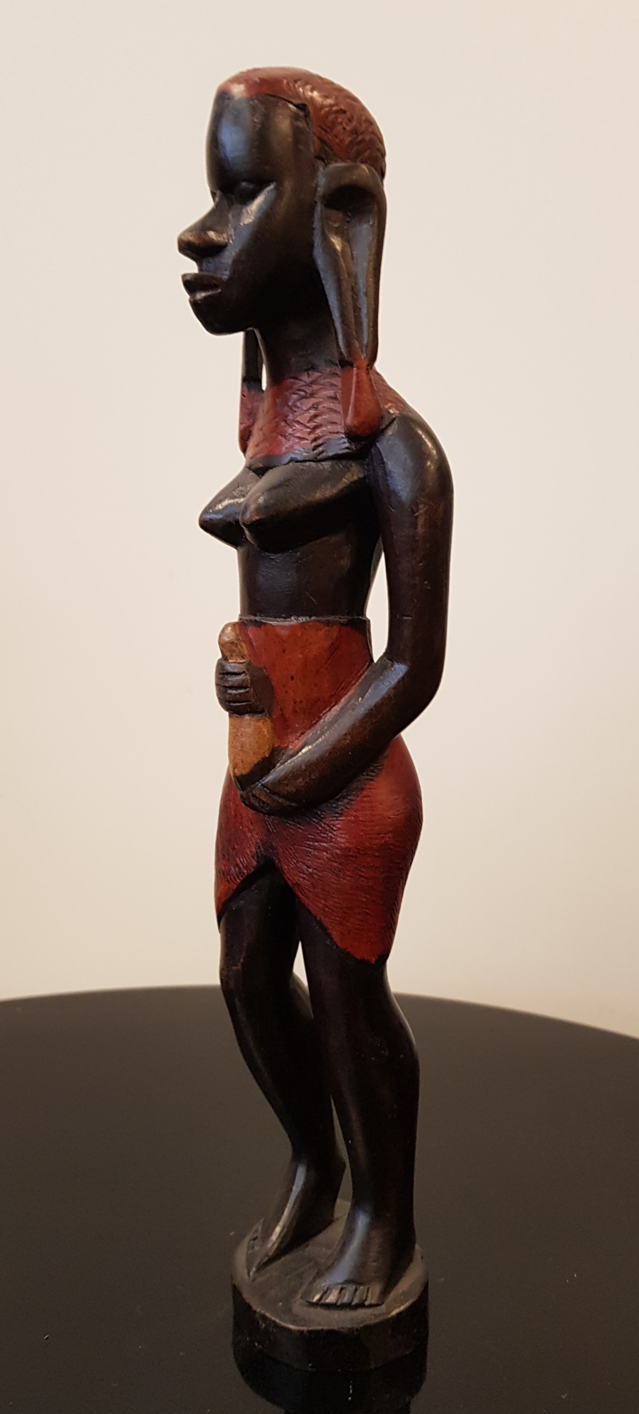Puuveistos Kenia/Masai