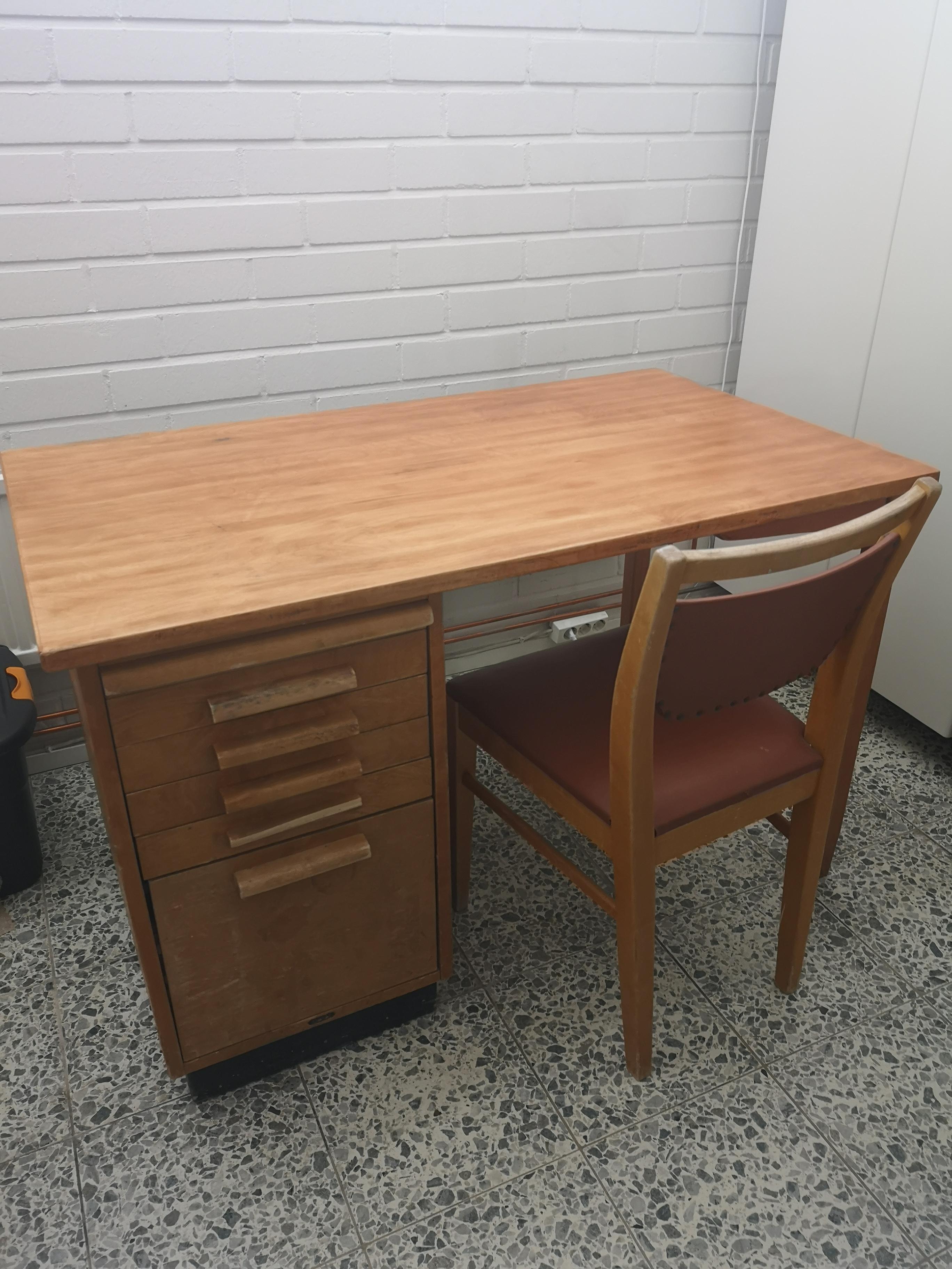 Billnäs työpöytä ja tuoli