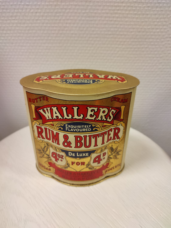 Wallers rum & butter peltipurkki