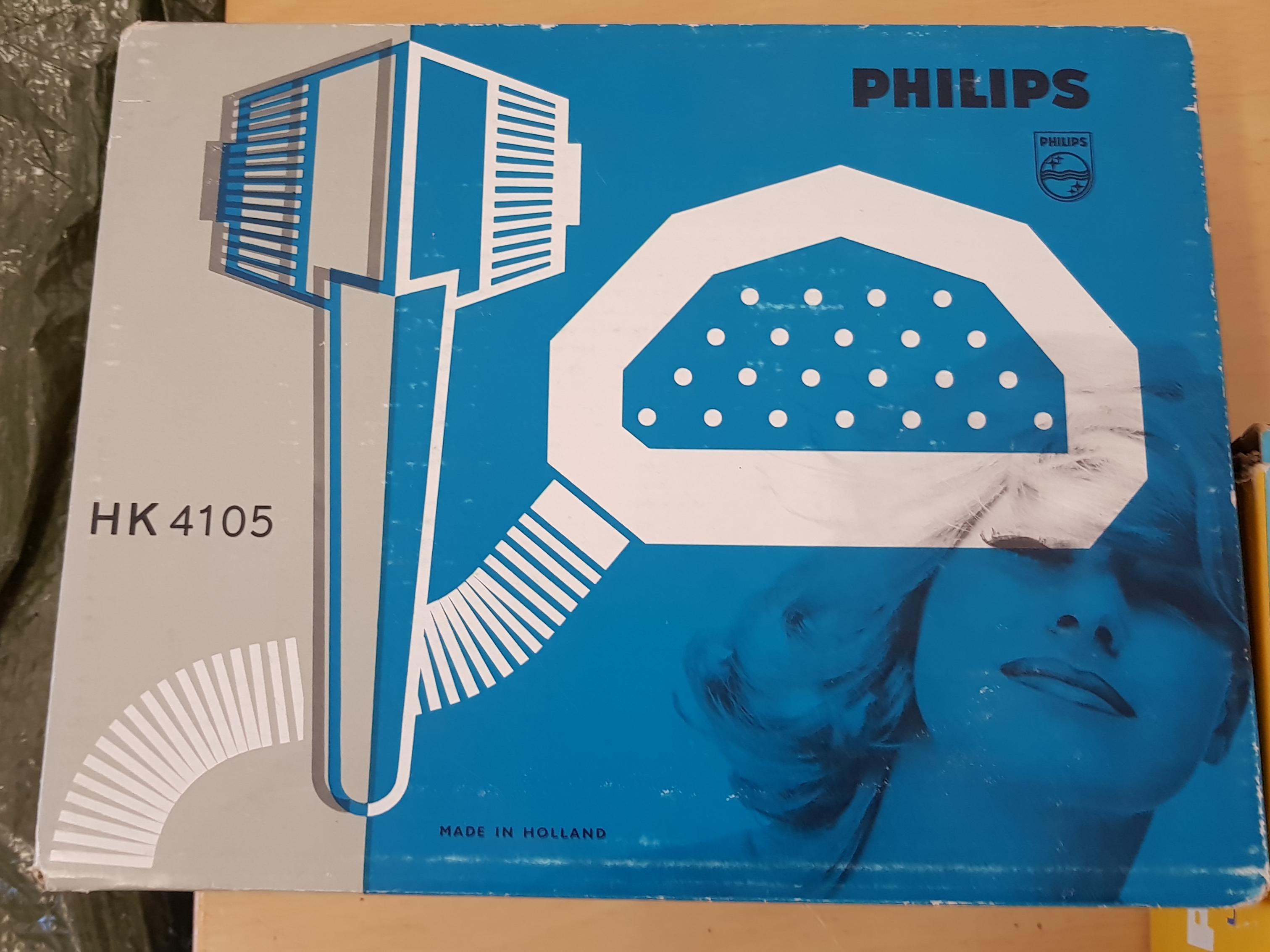 Philips HK4105 retro hiustenkuivaaja