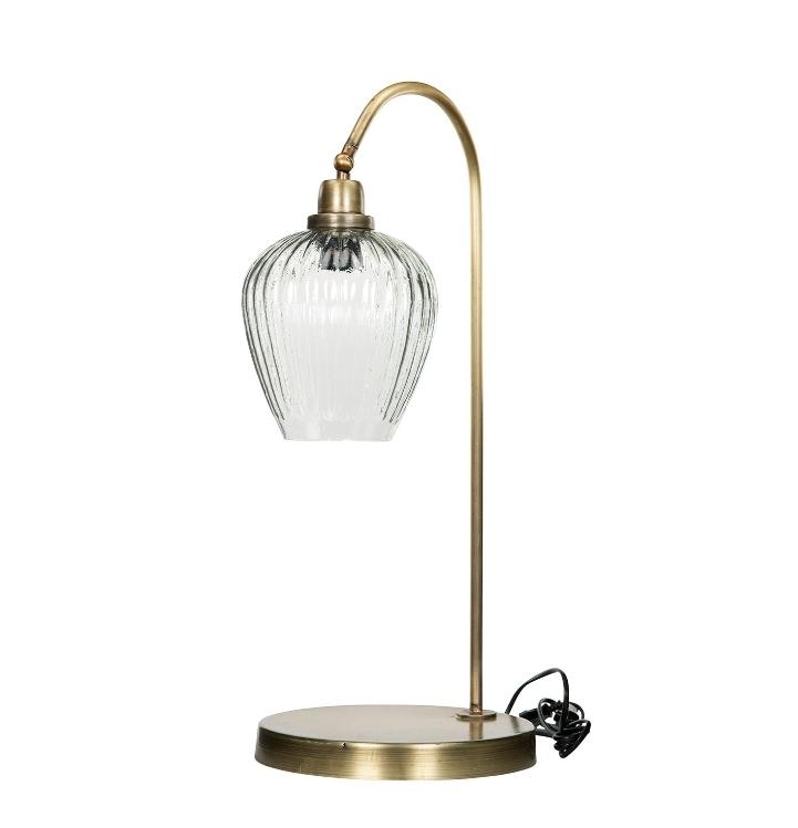 Bordslampa glas