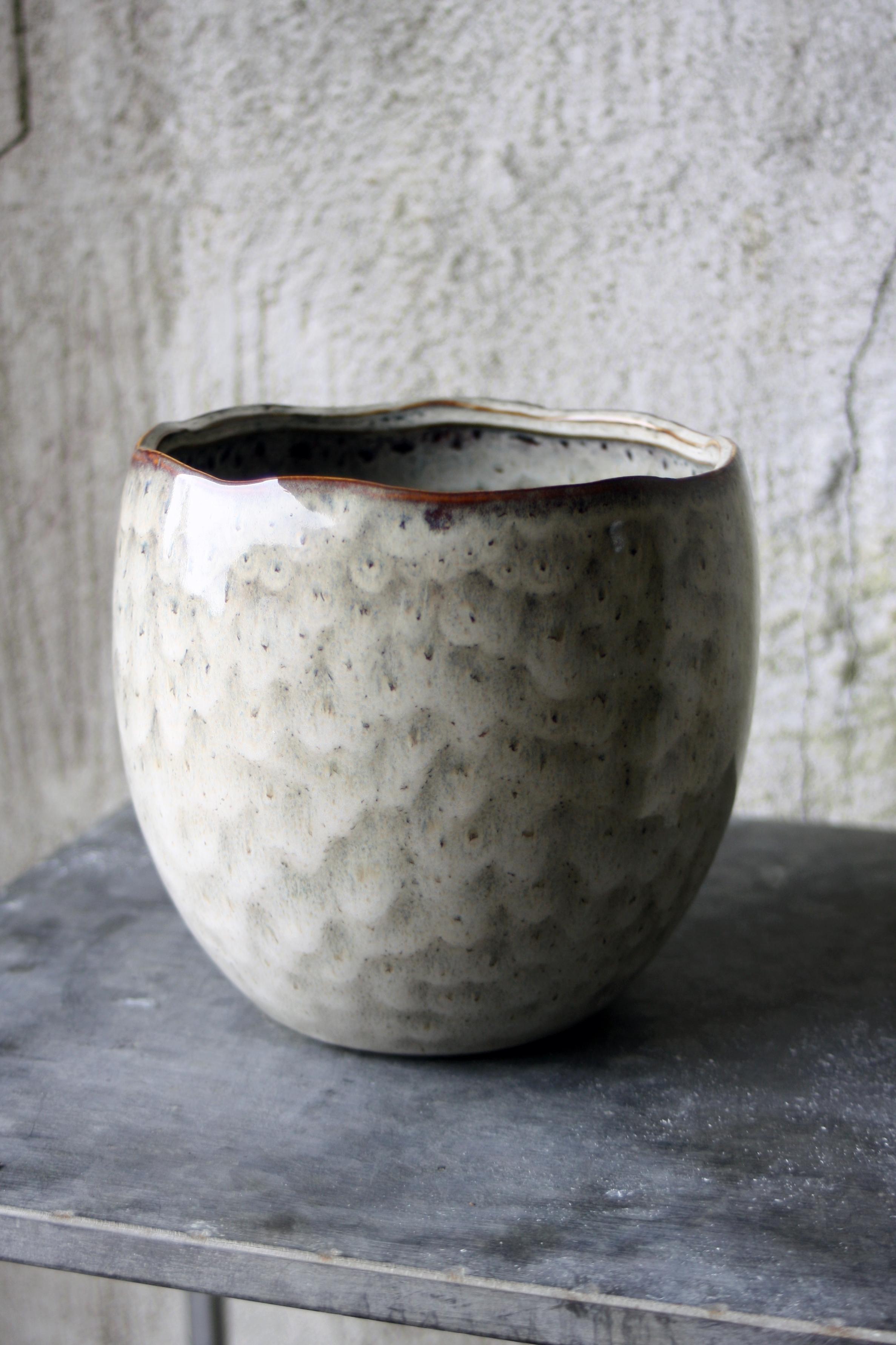 Keramikkruka creme