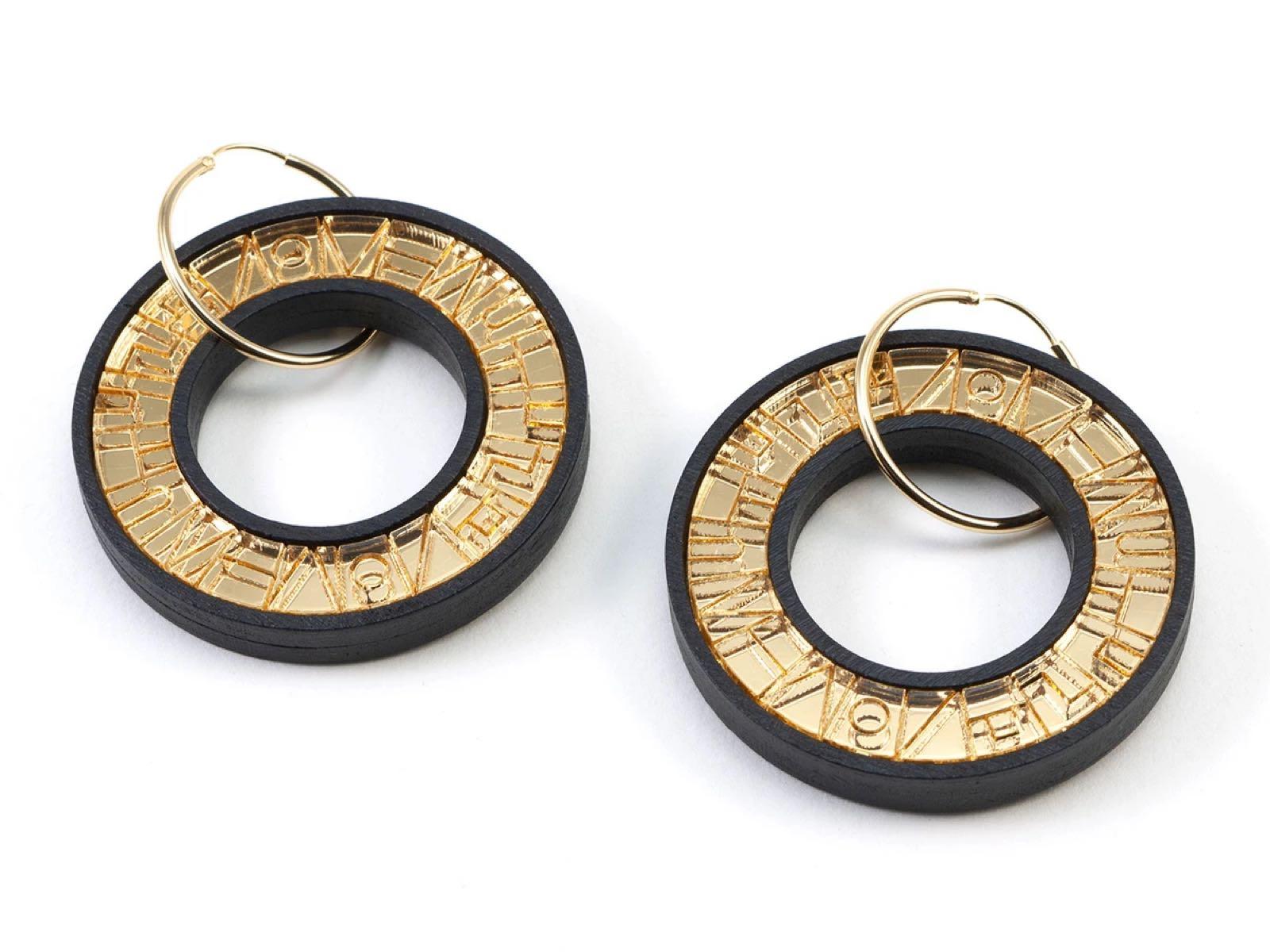 Mystic Forms - PELOTA Hoop Earrings