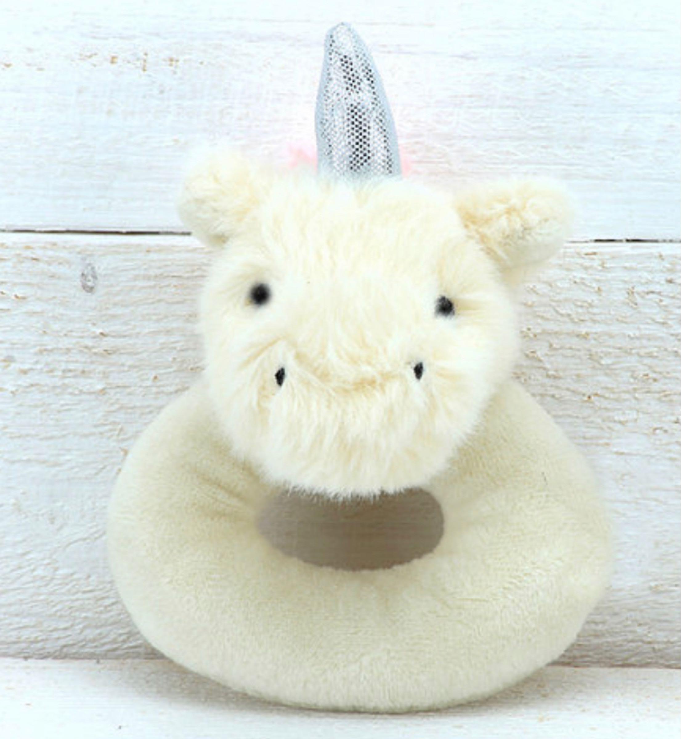 Jomanda Unicorn Baby Rattle 10cm