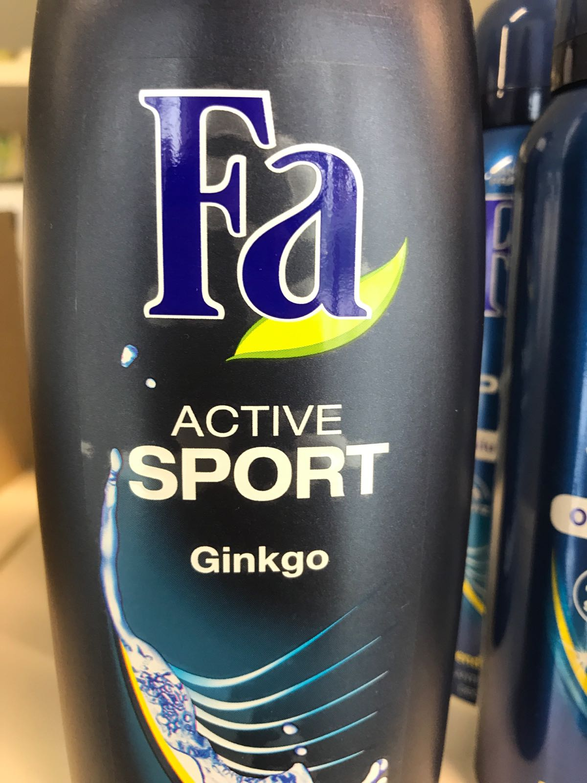 FA Duschgel sport
