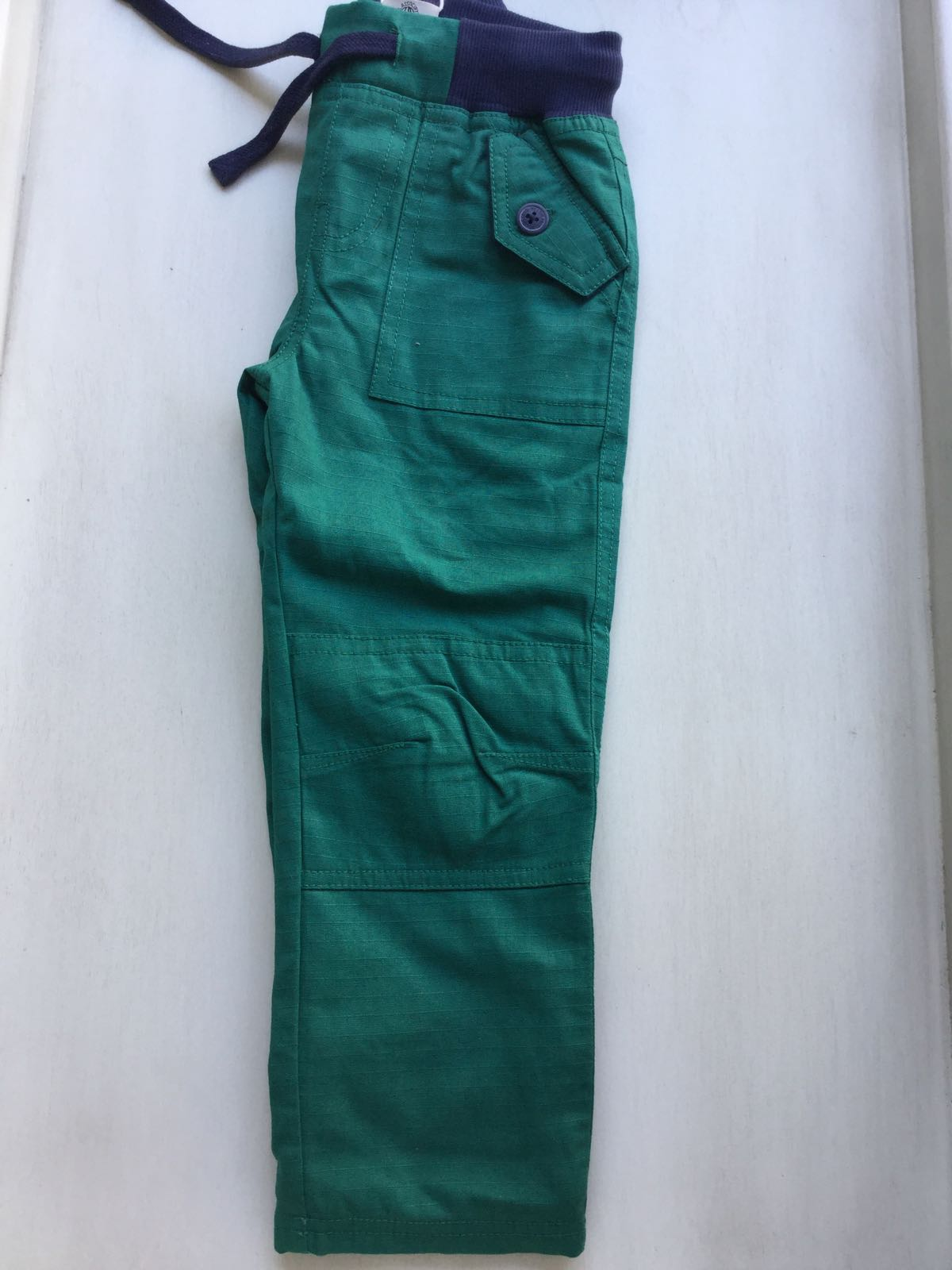 Frugi - Ripstop Trousers  Scots pine