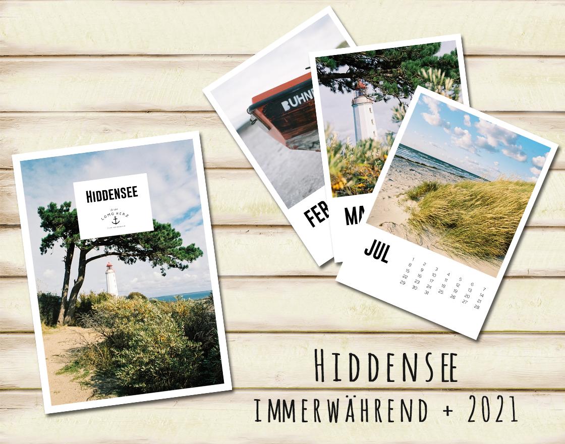 Lomoherz - Hiddensee Kalender