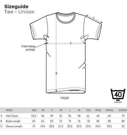 Stralsund Shirt Koordinaten (unisex)