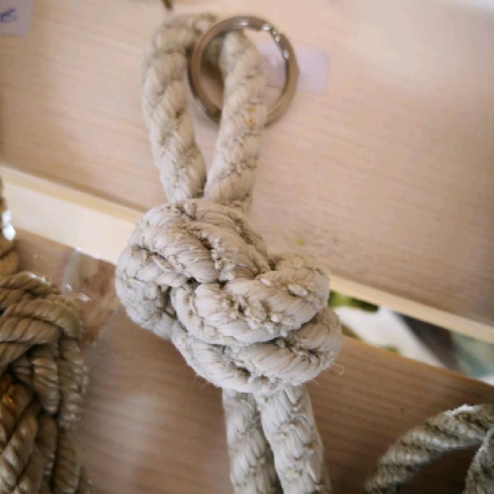 Fischereidesign - Schlüsselanhänger mit Knoten