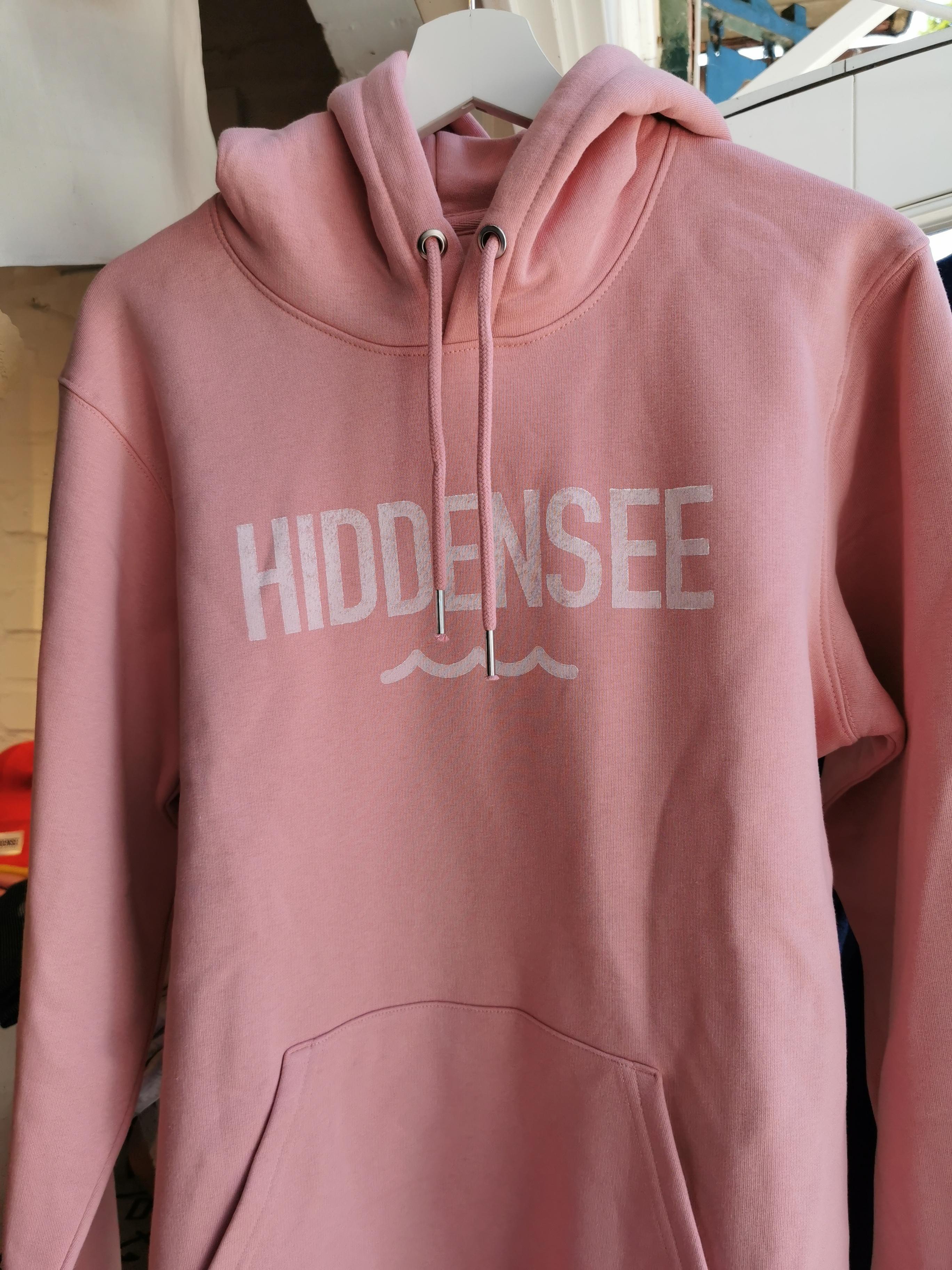 Hiddensee Hoodie Rosa Welle (unisex)