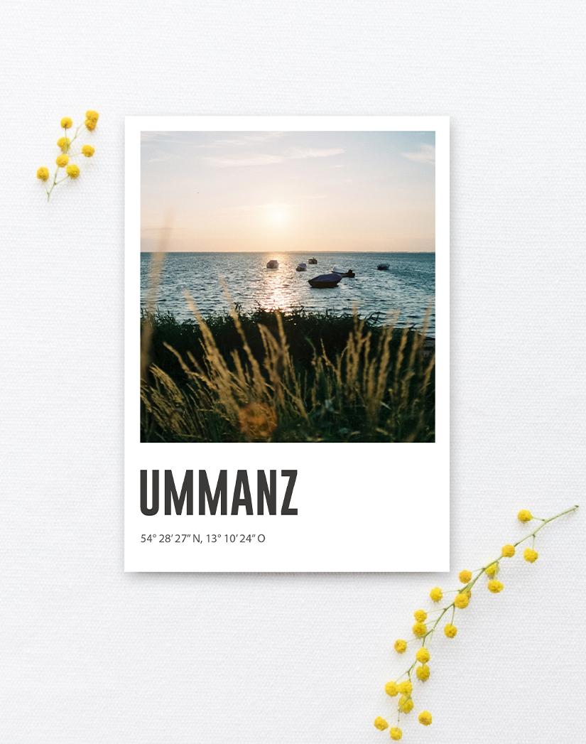 Lomoherz - Postkarte Ummanz