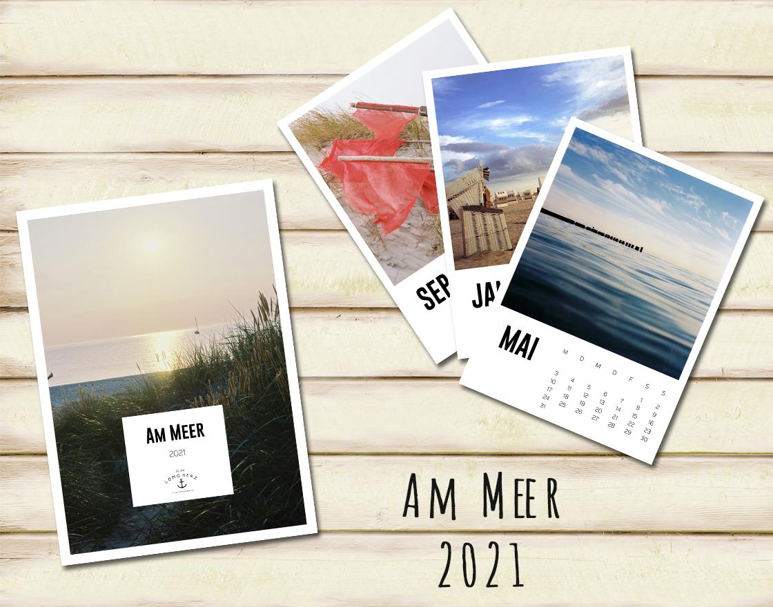 Lomoherz - Am Meer Kalender 2021